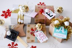 Handmade wrapping id