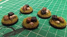 Pedda & Blood Bowl: December 2014 The finished set of reroll counters