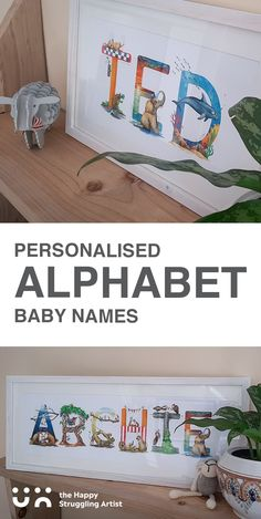 This made-to-order gift truly celebrates the vibrant uniqueness of your child in whimsically-wild South African style! 🛒 Shop online. 🌍 World-wide shipping availalbe #babynames #nurserydecor Alphabet Names, Animal Alphabet, Kid Names, Baby Names, African Animals, African Style, Your Child, Nursery Decor, Baby Shower Gifts