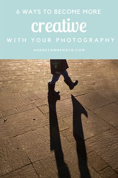 As photographers, we tend to spend more time learning the technical side of photography and forgetting the creative side! Click through for six ideas that will help you hone your creative side!