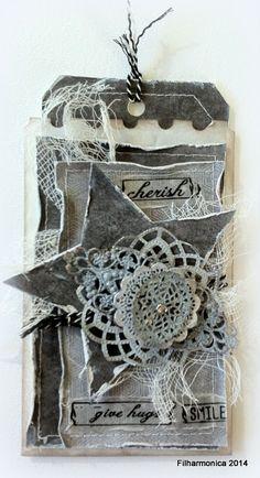 Filharmonicas kreative verden: Card and Scrap # 74 - Metall