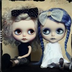 OOAK Blythe Art Doll, Custom by G.Baby