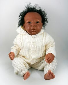 """Handcrafted Doll """"Theo"""" £90"""