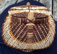 Egg Basket by Dolly Taylor http://medicinemancrafts.com/collections/basketry/products/egg-basket