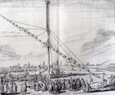 Najdłuższa luneta Heweliusza umieszczona na łące pod Gdańskiem.