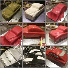 Hope this helps show the steps I went through to make my car cake if you need any help just let me know. Car Cake Tutorial, Fondant Cake Tutorial, How To Stack Cakes, How To Make Cake, Racing Cake, Fab Cakes, Truck Cakes, Sculpted Cakes, Take The Cake
