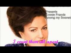 ▶ Connie Francis ~ Among My Souvenirs (Lyrics) - YouTube