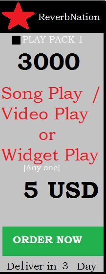 buy real reverbnation plays