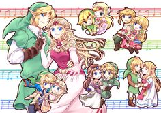 ZeLink through the ages「リンゼルアンソロ」/「海棠深月」のイラスト [pixiv]