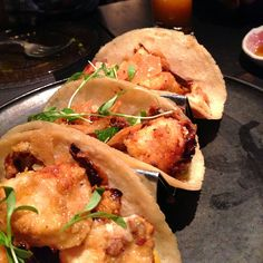 ABC Cocina, Crispy Fish Tacos, NY. (Photo by: Polsia Ryder)