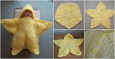 DIY Crocheted Star Bunting