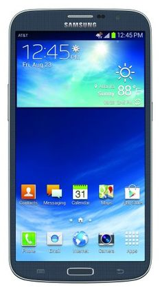 Samsung Galaxy Mega, Black 16Gb (At&T) (Discontinued By Manufacturer), 2015 Amazon Top Rated Contract Cell Phones #WirelessPhone
