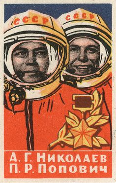 Cosmonauts Duo #astronauts