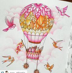 johanna basford balloon - Google Search