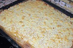 Streusel - Apfel - Blechkuchen wie bei Oma (Rezept mit Bild) | Chefkoch.de