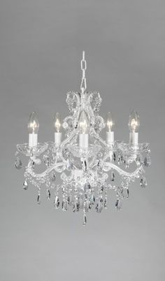 Lighting Chandeliers Pleasant Dreams 4 Arm Crystal Chandelier Cottage Haven Interiors Baby Room Pinterest Crystals And