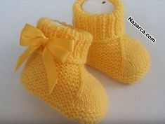 Boys-girls learn to build those inner balls-new-organ, Baby Knitting Patterns, Baby Girl Patterns, Crochet Patterns, Knit Baby Booties, Baby Boots, Baby Pullover, Crochet Shoes, Free Baby Stuff, Baby Sweaters