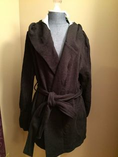 Pixley Jacy Hooded Knit Jacket. Don't love it on the dress form but think on a human this could be cute for the weekend?
