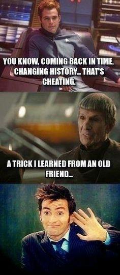 Doctor Who meets Star Trek