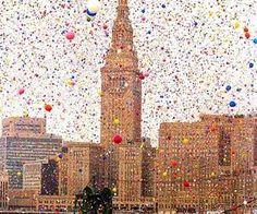 #nyc #party #balloons #confetti #pretty #celebrate