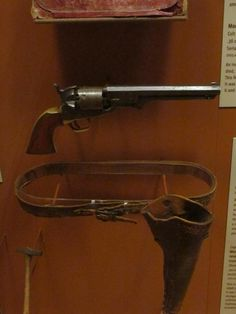 Jesse James' Colt Navy Model 1851 Revolver