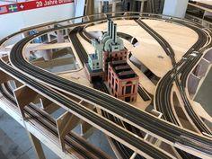 Modellbahn 365 | brima - modellanlagenbau #modeltrainlayouts Ho Trains, Model Trains, Model Railway Track Plans, Standard Gauge, Model Train Layouts, N Scale, Train Set, Train Tracks, Scale Models