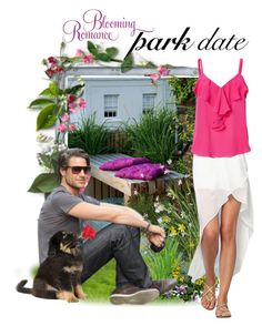 """Park date contest"" by a-vigh ❤ liked on Polyvore featuring L'Agence"