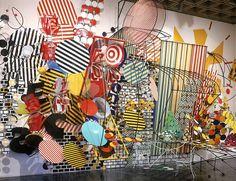 N.Y.C -B.Q.E., Judy Pfaff, 1987