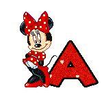 Oh my Alfabetos!: Alfabeto animado de Minnie coqueta.