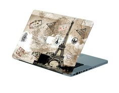 Eiffel Tower decal Macbook decal Macbook sticker apple macbook decal stickers macbook pro decal macbook full decal. $14.98, via Etsy.