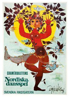 Bjørn Wiinblad - Nordiska Dansspel