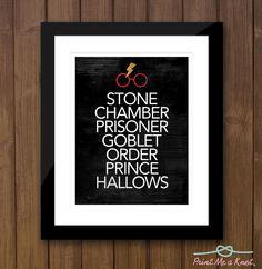 8 x 10 Harry Potter Fan Memorabilia Typography Art Print Version 2 // Perfect for Kids Room // Harry Potter Fanatic Harry Potter Bedroom, Harry Potter Decor, Harry Potter Love, Harry Potter World, Harry Potter Memorabilia, Star Wars Room, Chocolate Frog, Superhero Room, Mischief Managed