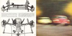 1964 Porsche 356C U.S. brochure page 16 & 17
