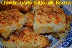 Cheddar Garlic Buttermilk Biscuits Red Lobster Biscuits, No Yeast Bread, Bread Baking, Baking Soda, Buttermilk Biscuits, Cheddar Biscuits, Biscuit Recipe, Yummy Eats, Yummy Yummy