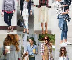 how to style a plaid shirt