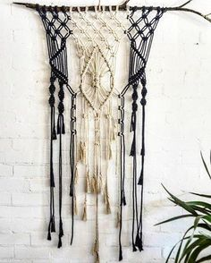 One of my students macrame pieces she made in macrame school last week. Next available classes are opposite ends of the earth Moss Vale, Australia- 14 may Brooklyn, New York - last weekend in may. Details soon. #macrameschool #macrame