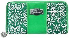 "Teal Appeal Wallet * Flaunt Handbag NWT Patent Liquid Gloss 92254 by Flaunt. $32.50. 8.25"" x 4.25"""