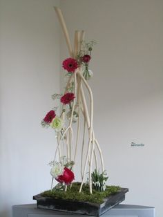 Image - Mitsumata et sa déclinaison de bulles - Art Floral   bleuette010  - Skyrock.com