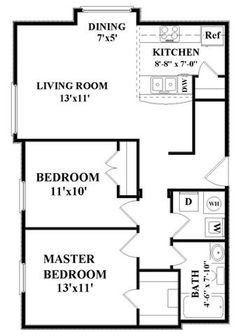 For The Home Floor Plans On Pinterest Small House