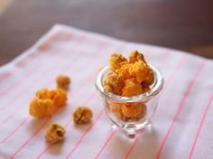 cheddar cheese + carmel popcorn together is insanely delicious!