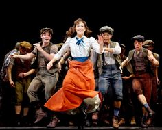 """if the """"king of new york"""" number from #newsies doesn't make you want to take a tap dance class, what's wrong with you!?"""