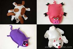 Animal Bean Bags Craft    Click here to see how: http://www.firstpalette.com/Craft_themes/Animals/Animal_Bean_Bags/Animal_Bean_Bags.html#: