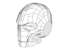 Warhammer 40K - Mark III Helmet Free Papercraft Download - http ...