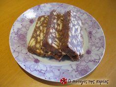 Μωσαϊκό Θεϊκό #sintagespareas Greek Desserts, Party Desserts, Greek Recipes, My Favorite Food, Favorite Recipes, Think Food, Yummy Mummy, No Bake Cake, Cooking Time