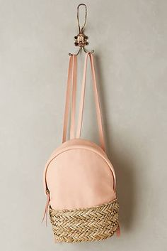 Discover unique Backpacks at Anthropologie, including the seasons newest arrivals. Best Tote Bags, Best Bags, Tote Backpack, Fashion Backpack, Handbag Accessories, Fashion Accessories, Unique Backpacks, Wicker Purse, Leather Duffle Bag