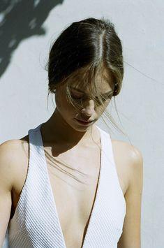 white plunge dress, white dress, dress styles