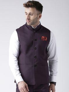 Purple Fashion, All Fashion, Modi Jacket, Men's Jacket, Nehru Jackets, Purple Fabric, Party Wear Sarees, Festival Wear