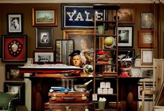 Yearbook Studios is a beacon of style and sophistication in the popular Forest Park business district. Vintage Sports Decor, Ivy League Style, Studio Apartment, Apartment Ideas, Front Rooms, Hamptons House, Dormitory, Studios, Indoor