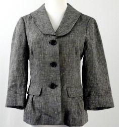 Max Studio Linen Jacket