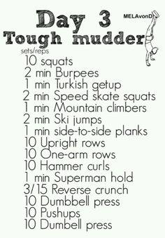 Tough Mudder | Day 3